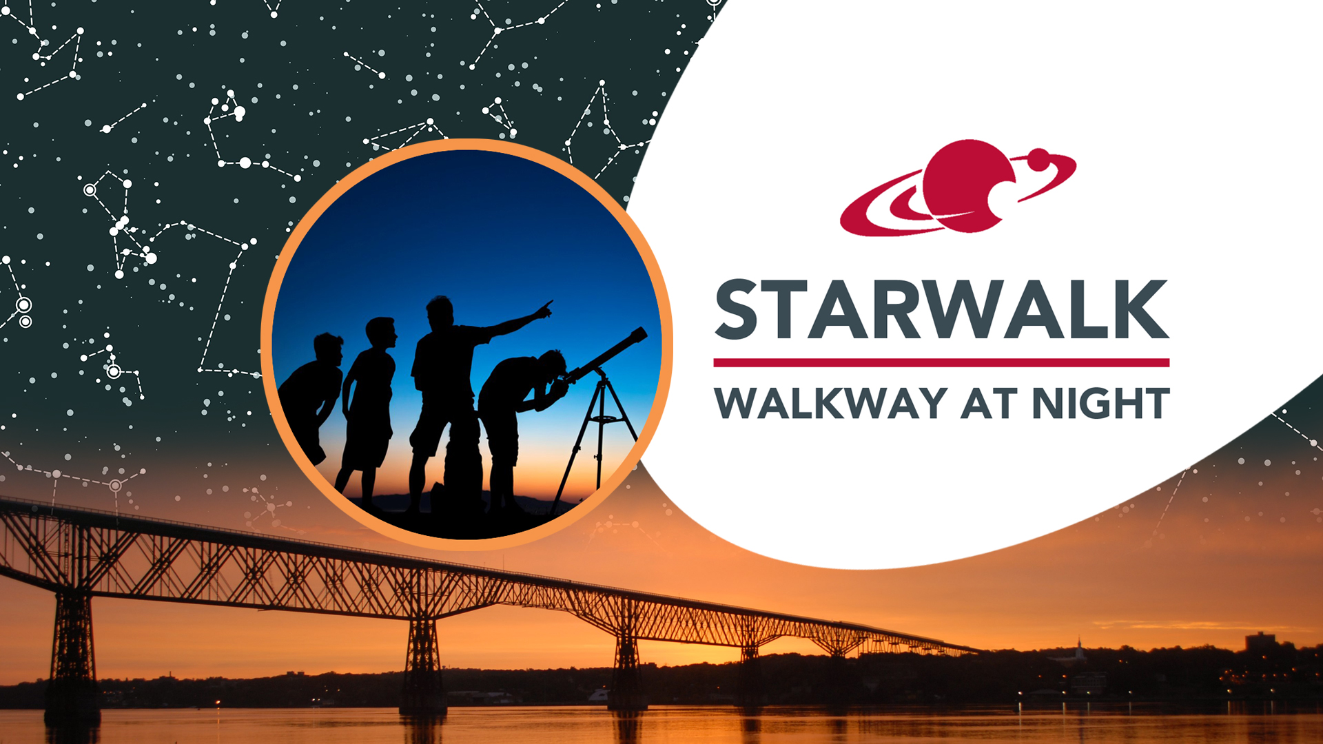 STARWALKS on Walkway Over the Hudson